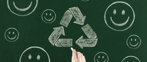 Volta às aulas com reutilização