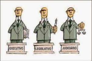 Executivo, Legislativo e Judiciário