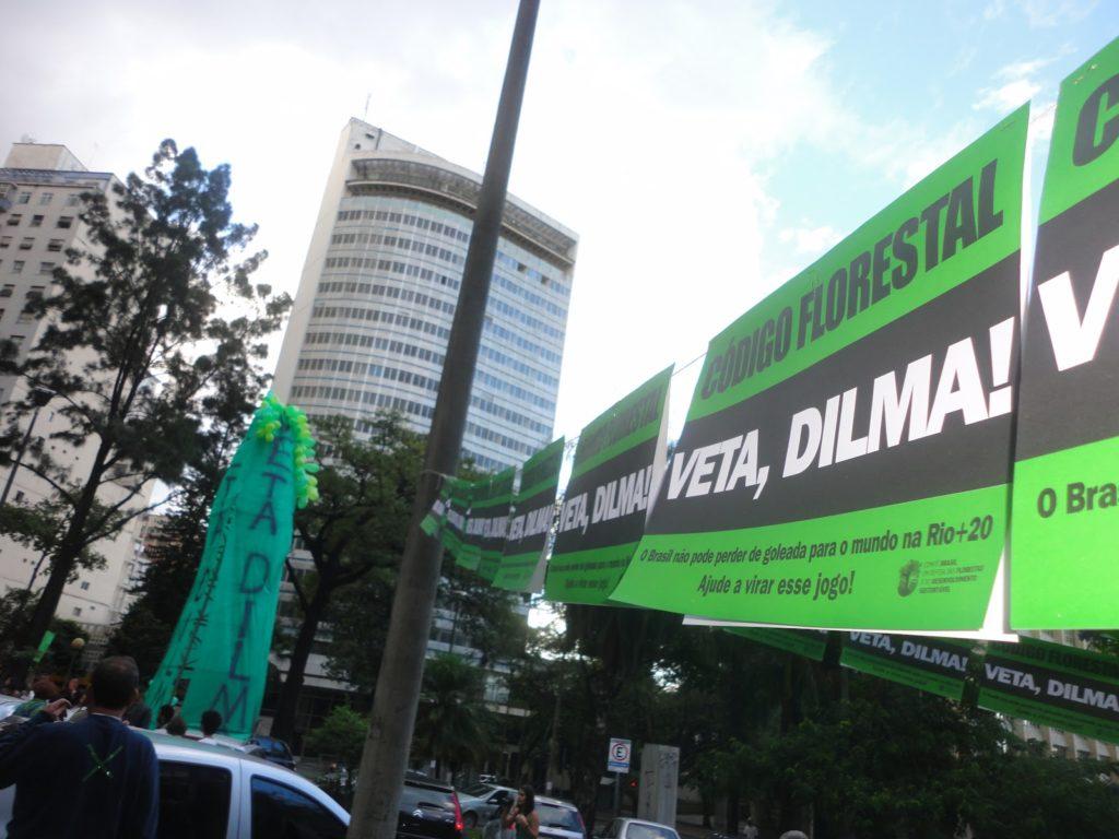 Manifestação em BH, Praça Afonso Arinos - 05/05/2012