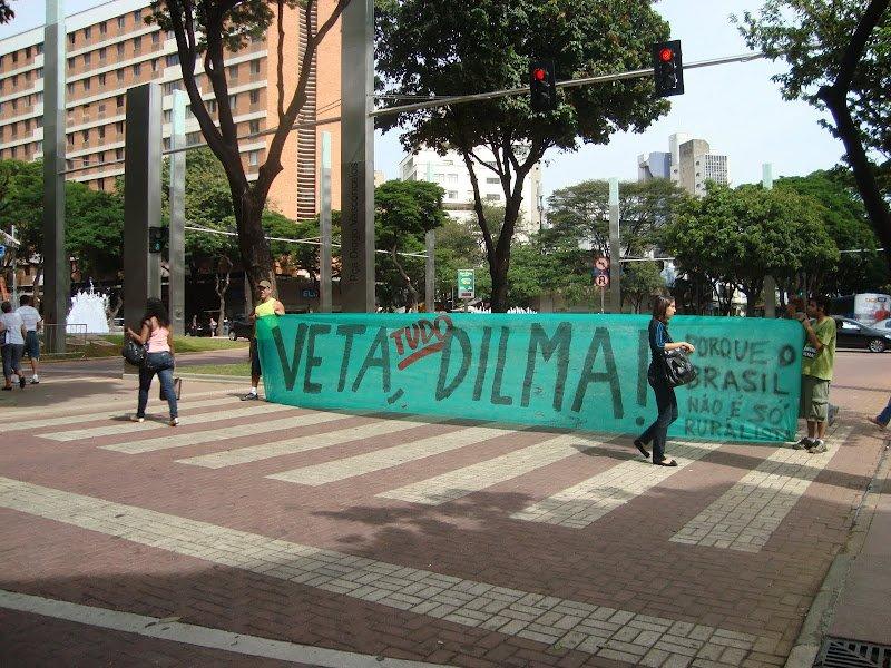 Manifestação em BH, no dia 19/05/2012
