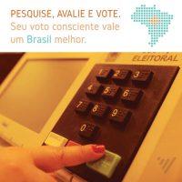 ELEIÇÕES 2018 >> VOTE CONSCIENTE!